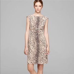D29 CALVIN KLEIN Leopard Dress
